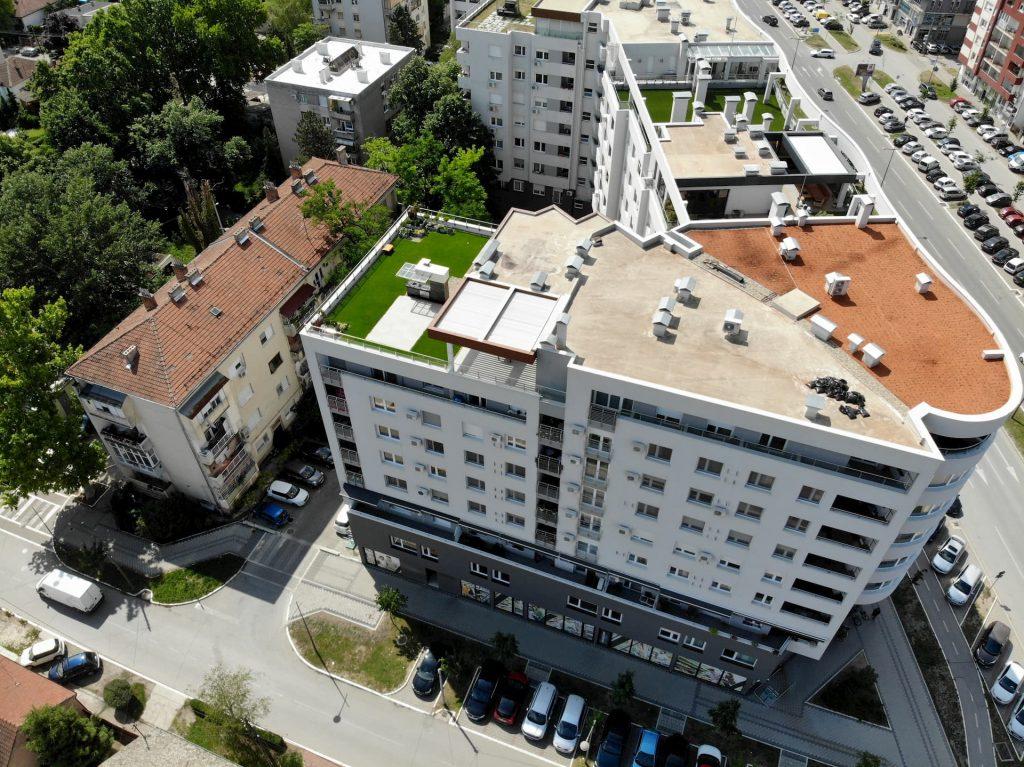 Gradimo odgovorno: Dijagonala postavila 1.000-ti kvadrat zelenog krova